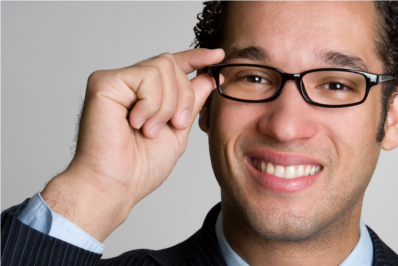 Businessman Glasses